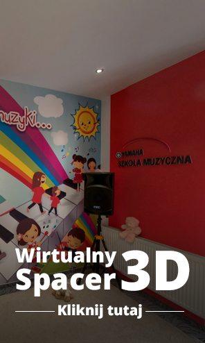 Wirtualny spacer 3D po szkole muzycznej Yamaha